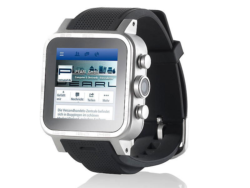 "1.5""-Smartwatch AW-421.RX 512MB RAM, Alu (refurbished)"