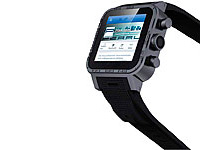"simvalley 1.5""-Smartwatch AW-420.RX Android 4.2, BT, WiFi, 1GB, BLACK; Simvalley Smartphone & Smartwatches, Smartwatch Simvalley Smartphone & Smartwatches, Smartwatch Simvalley Smartphone & Smartwatches, Smartwatch"