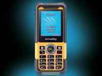 simvalley MOBILE Action & Outdoor-Handy XT-710 V.2  VERTRAGSFREI; Handy, Simvalley Smartphone & Smartwatches Handy, Simvalley Smartphone & Smartwatches