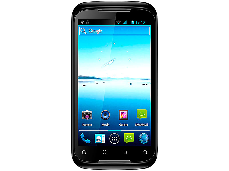 "simvalley MOBILE DualSIM-Smartphone SP-140 SC 4.5"" (refurbished)"