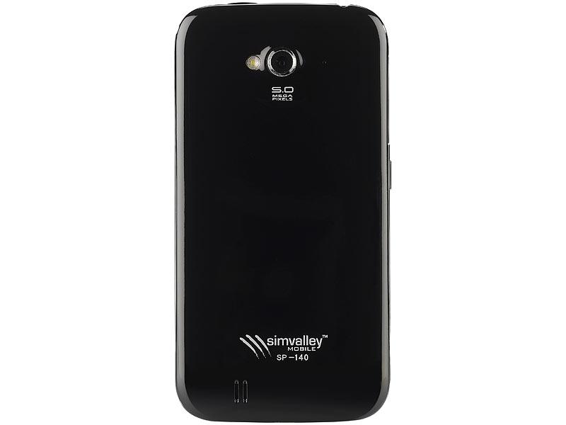 simvalley MOBILE DualSIM-Smartphone SP-140 DC 4.5 ...