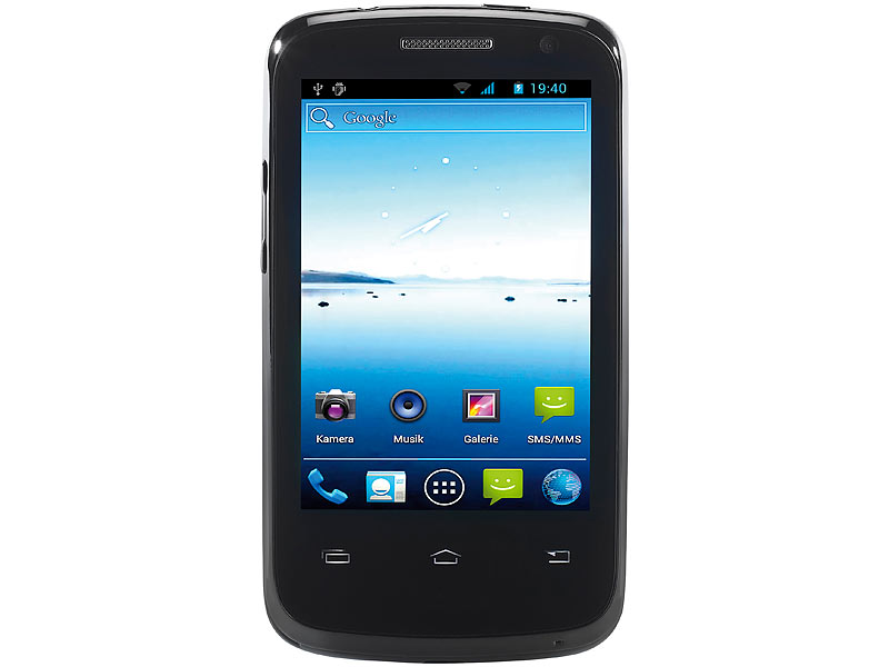 simvalley MOBILE Dual-SIM-Smartphone SP-100 (refurbished)