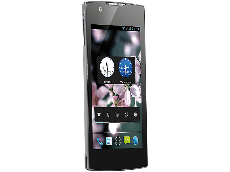 "simvalley MOBILE Smartphone SP-2X.SLIM DualCore 4.0"", Android 4.2, BT4"