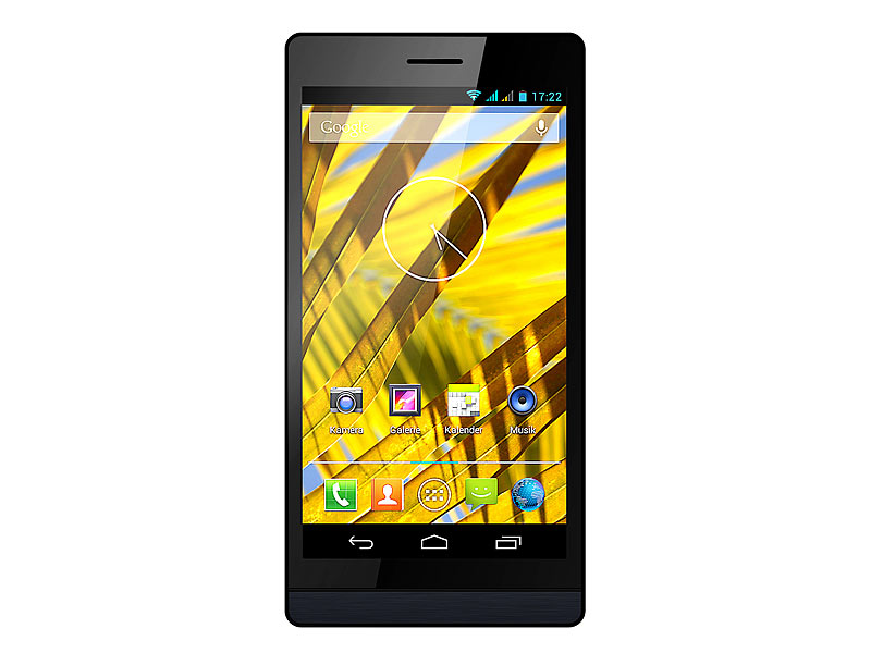 "simvalley MOBILE SPX-28 QuadCore 5.0"", Android 4.2 (refurbished)"