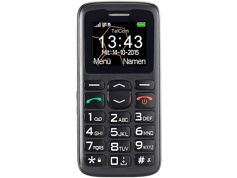 simvalley MOBILE Komfort-Handy XL-915 V2 mit Garantruf Premium (refurbished)