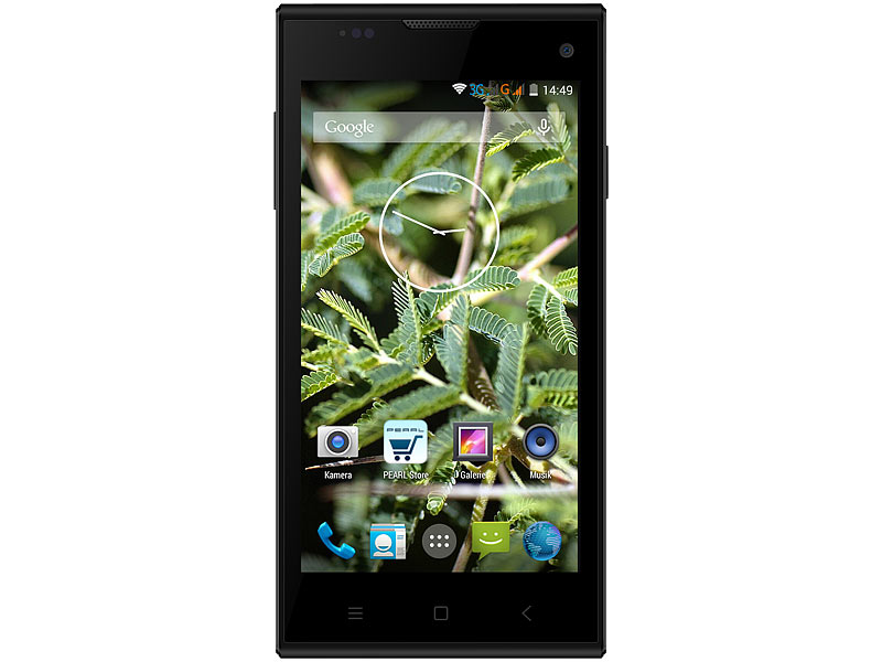 "simvalley MOBILE Dual-SIM-Smartphone SP-144 QuadCore 4.5""(refurbished)"