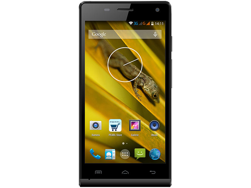 "simvalley MOBILE Dual-SIM-Smartphone SPX-26 QuadCore 5.0""(refurbished); Simvalley, Simvalley Smartphone & Smartwatches"
