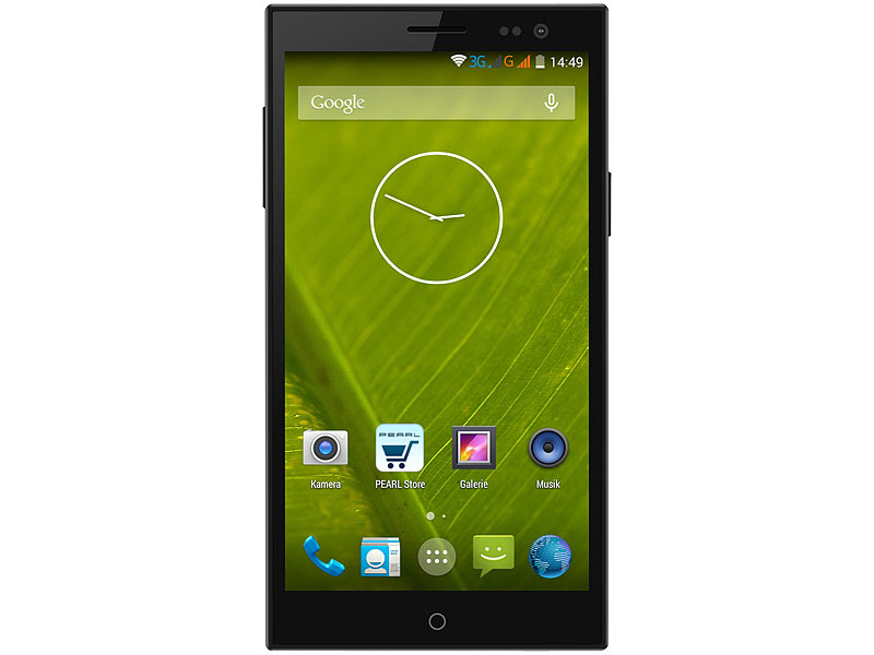 "simvalley MOBILE Dual-SIM-Smartphone SPX-34 OctaCore 5.0"", Android 4.4; Notruf-Handys Notruf-Handys"