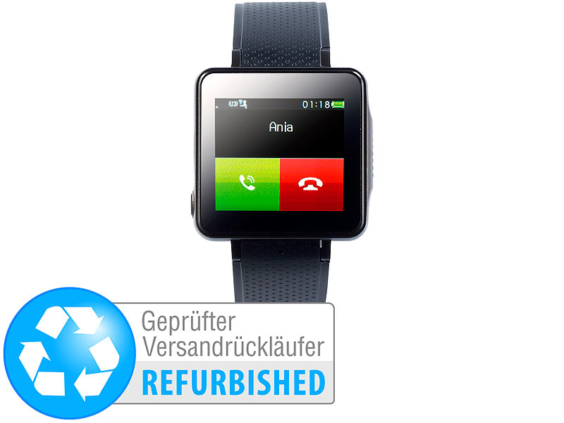 ; Handy-Smartwatches mit Kamera und Bluetooth, Handy-Smartwatches mit Bluetooth