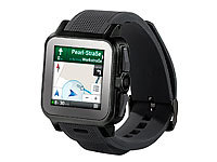 "simvalley MOBILE 1.5""-Smartwatch AW-414.Go mit Android4, BT, WiFi, Cam"