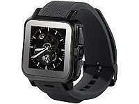 "simvalley MOBILE 1.5""-Smartwatch AW-414.Go mit Android4, BT, WiFi (refurbished); Scheckkartenhandys"