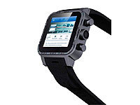 "simvalley MOBILE 1.5""-Smartwatch AW-420.RX mit Android 4 / BT / WiFi (refurbished)"