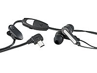 simvalley MOBILE InEAR-Stereo-Headset für Handy SX-320 & SX-330