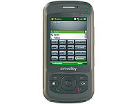simvalley MOBILE XP-45 mit Windows Mobile 6.1 (refurbished); Scheckkartenhandys