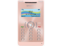 "simvalley MOBILE Mini-Handy RX-380 ""Pico X-SLIM PINK"" (refurbished)"
