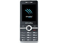 simvalley MOBILE Dual-SIM Multimedia-Handy SX-340 MUSIC (refurbished); Notruf-Handys