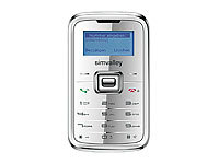 "simvalley MOBILE Mini-Handy RX-180 ""Pico INOX SILVER V.4"" VERTRAGSFREI; Android-Smartphones"