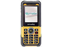 simvalley MOBILE Komfort-Outdoor-Handy XT-710 V.2  (refurbished); Dual-SIM-Handys, Notruf-Handys