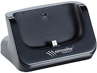 simvalley MOBILE Docking-Station für SPX-24.HD & Samsung Galaxy S3/S4