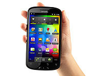 "simvalley MOBILE 5,2""-Dual-SIM-Smartphone & Tablet-PC ""SPX-5"" (refurbished); Scheckkartenhandys"