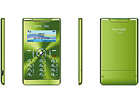 "simvalley MOBILE Mini-Handy RX-380 ""Pico X-SLIM GREEN"" VERTRAGSFREI"