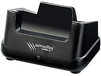 "simvalley MOBILE Ladestation für Notruf-Handy ""XL-937"" (refurbished)"