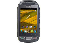 simvalley MOBILE Outdoor-Smartphone SPT-800 DC, Android 4.0, grün