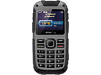 simvalley MOBILE GPS-Outdoor-Handy XT-930, Dual-SIM, VERTRAGSFREI