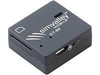 simvalley MOBILE GSM-Tracker GT-60 mit SMS-Ortung (refurbished); Android-Smartphones
