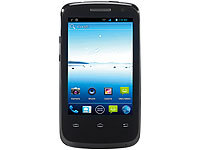 simvalley MOBILE Dual-SIM-Smartphone SP-100 (refurbished); Scheckkartenhandys
