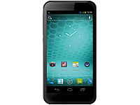 "simvalley MOBILE Dual-SIM-Smartphone SPX-12 DualCore 5.2"", Android 4.0 (refurbished); Scheckkartenhandys"