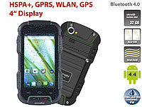 "simvalley MOBILE Outdoor-Smartphone SPT-900 V2, 4"", Android 4.4, IP68"