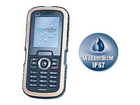 simvalley MOBILE Wasserdichtes Dual-SIM-Outdoor-Handy XT-640