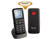 simvalley MOBILE Komfort-Handy XL-915 V2 mit Garantruf & Ladestation
