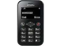simvalley MOBILE Scheckkarten-Handy Pico RX-484 (refurbished)
