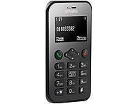 simvalley MOBILE Scheckkarten-Handy Pico RX-486 mit BT, Garantruf, GPS (refurbished)