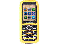 simvalley MOBILE Outdoor-Handy XT-680, wasserdicht IP67, Dual-SIM