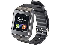 "simvalley MOBILE 1,5""-Handy-Uhr & Smartwatch PW-430.mp mit Bluetooth 3.0 und Fotokamera; Android-Smart-Watches, Handy-Uhren Android-Smart-Watches, Handy-Uhren Android-Smart-Watches, Handy-Uhren Android-Smart-Watches, Handy-Uhren"