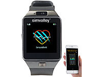; Handy-Smartwatches mit Bluetooth, Handy-Smartwatches mit Kamera und Bluetooth