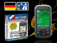 simvalley MOBILE Smartphone XP-25 mit NavGear Navi-Software D+HSE