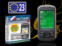 simvalley MOBILE Smartphone XP-25 mit NavGear Navisoftware für West-EU