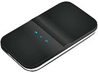 simvalley MOBILE 2in1 WLAN-Hotspot mit 3G/UMTS-Modem, SIM-Lock-frei