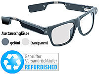 simvalley MOBILE Smart Glasses SG-100.bt (Versandrückläufer)