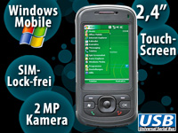 simvalley MOBILE XP-25 Win Mobile 6.1 VERTRAGSFREI (refurbished)