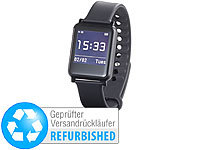 simvalley MOBILE Smartwatch mit Bluetooth 4.0, Fitness, Pulsmessung (refurbished)
